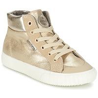 Cipők Lány Magas szárú edzőcipők Victoria BOTA METALIZADA PU Arany