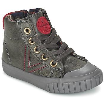 Cipők Rövid szárú edzőcipők Victoria BOTA NAPA PU Szürke