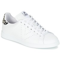 Cipők Női Rövid szárú edzőcipők Victoria DEPORTIVO BASKET PIEL Fehér