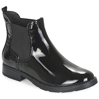 Cipők Lány Csizmák Geox SOFIA Fekete