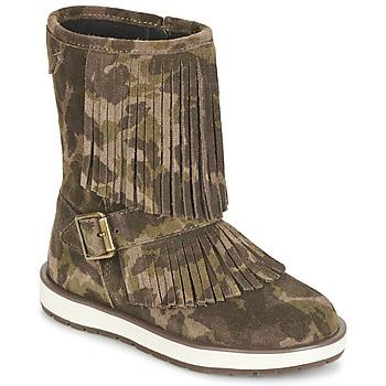 Cipők Lány Csizmák Geox NOHA Zöld