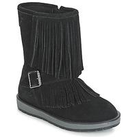 Cipők Lány Városi csizmák Geox NOHA Fekete
