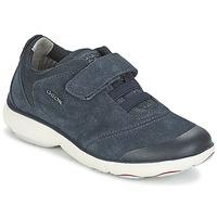 Cipők Fiú Rövid szárú edzőcipők Geox NEBULA BOY Kék