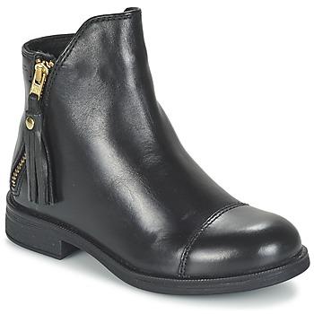 Cipők Lány Csizmák Geox AGATE Fekete