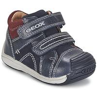Shoes Fiú Magas szárú edzőcipők Geox B TOLEDO BOY Kék
