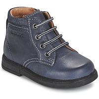 Cipők Fiú Csizmák Geox B GLIMMER Kék