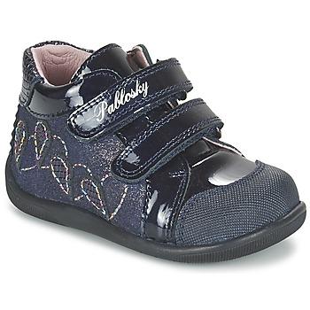 Cipők Lány Magas szárú edzőcipők Pablosky VANIDELLE Tengerész