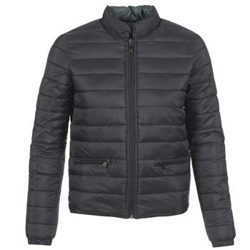 Ruhák Női Steppelt kabátok Eleven Paris TROUBLE Fekete