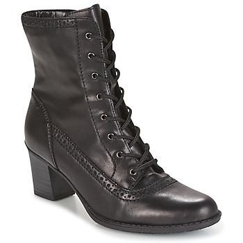 Shoes Női Bokacsizmák Rieker SEBILLE Fekete
