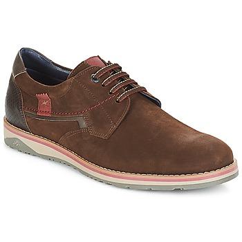 Cipők Férfi Oxford cipők Fluchos BRAD Barna