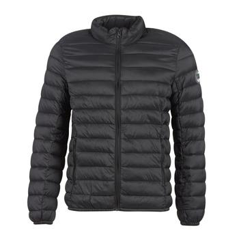 Ruhák Férfi Steppelt kabátok Teddy Smith BLIGHT Fekete