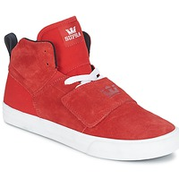 Cipők Férfi Magas szárú edzőcipők Supra ROCK Piros