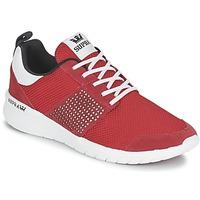 Cipők Rövid szárú edzőcipők Supra SCISSOR Piros