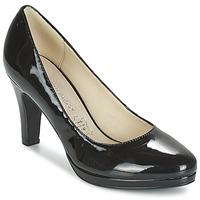 Cipők Női Félcipők Moony Mood FEROU Fekete / Fényes