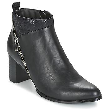 Cipők Női Bokacsizmák Moony Mood FOCAI Fekete