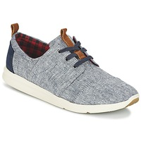 Cipők Női Rövid szárú edzőcipők Toms DEL REY Kék