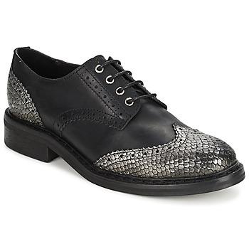 Cipők Női Oxford cipők Koah LESTER Fekete / Ezüst