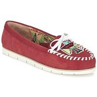 Cipők Női Mokkaszínek Miss L'Fire YHUNDERBIRD Piros