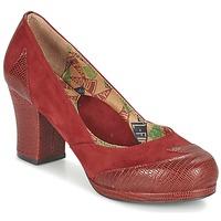 Cipők Női Félcipők Miss L'Fire ADDIE Piros