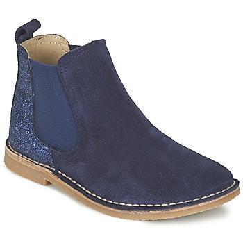 Cipők Lány Csizmák Citrouille et Compagnie FIGOULI Kék