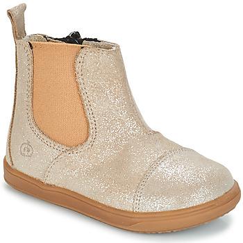 Shoes Lány Csizmák Citrouille et Compagnie FEPOL Ezüst