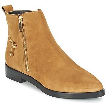 Cipők Női Csizmák Kenzo TOTEM FLAT BOOTS Teve