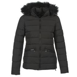 Ruhák Női Steppelt kabátok Le Temps des Cerises STAR Fekete