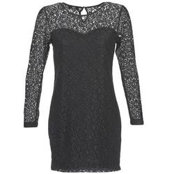 Ruhák Női Rövid ruhák Le Temps des Cerises JOE Fekete