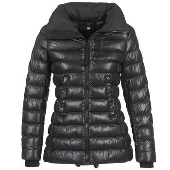 Ruhák Női Steppelt kabátok G-Star Raw WHISTLER SLIM COAT Fekete