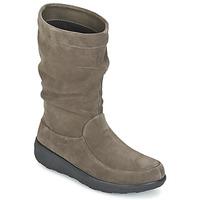 Cipők Női Csizmák FitFlop LOAF SLOUCHY KNEE BOOT SUEDE Tópszínű