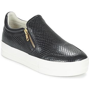Cipők Női Belebújós cipők Ash JORDY Fekete