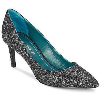 Shoes Női Félcipők Sonia Rykiel 677620 Fekete  / Fényes