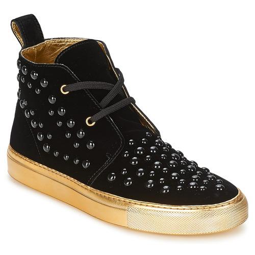 Cipők Női Magas szárú edzőcipők Sonia Rykiel 670183 Fekete