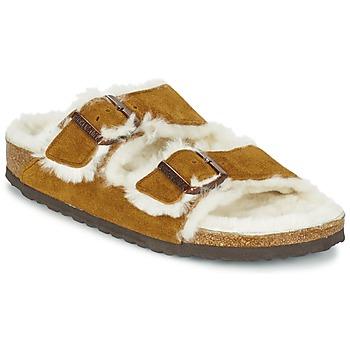 Cipők Női Papucsok Birkenstock ARIZONA Barna