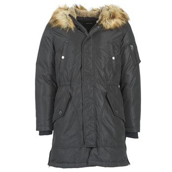 Ruhák Férfi Parka kabátok Diesel W ASILY Fekete