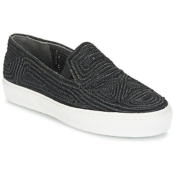 Cipők Női Belebújós cipők Robert Clergerie TRIBAL Fekete