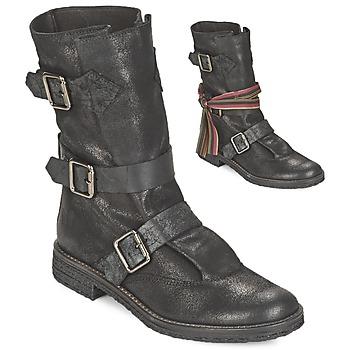 Cipők Női Csizmák Felmini CREPONA Fekete