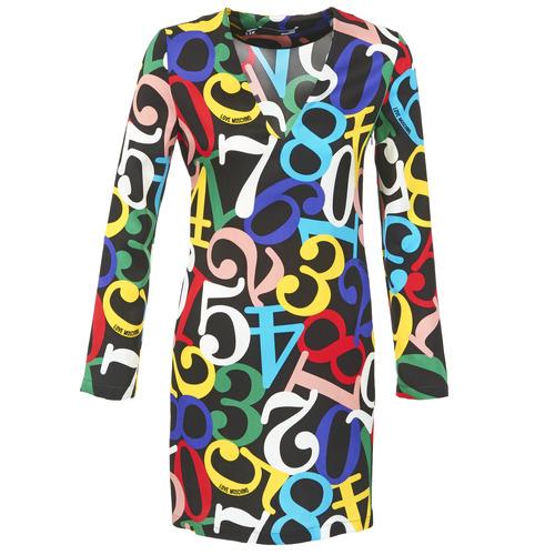 Ruhák Női Rövid ruhák Love Moschino PICHANI Sokszínű