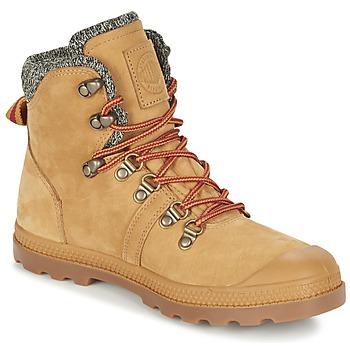 Shoes Női Csizmák Palladium PALLABROUSSE HIKING Méz
