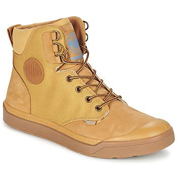 Shoes Férfi Csizmák Palladium PALLARUE WP Méz