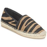 Cipők Női Gyékény talpú cipők Marc Jacobs SIENNA Fekete  / Teve