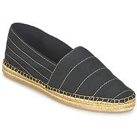 Cipők Női Gyékény talpú cipők Marc Jacobs SIENNA Fekete  / Arany
