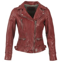 Ruhák Női Bőrkabátok / műbőr kabátok Oakwood VIDEO Piros