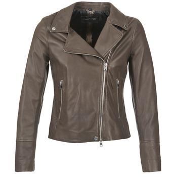 Ruhák Női Bőrkabátok / műbőr kabátok Oakwood 62049 Szürke / Tiszta