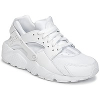 Shoes Fiú Rövid szárú edzőcipők Nike HUARACHE RUN JUNIOR Fehér