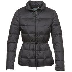Ruhák Női Steppelt kabátok Geox CHESQUALE Fekete