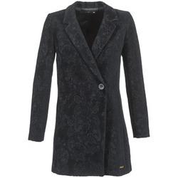 Ruhák Női Kabátok Desigual LOUVIALE Fekete