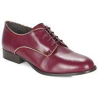 Cipők Női Oxford cipők Betty London FLOJE Bordó
