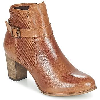 Cipők Női Bokacsizmák Betty London FAZELLE Teve