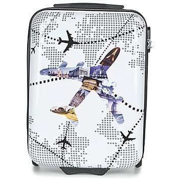 Táskák Keményfedeles bőröndök David Jones OUSKILE 36L Sokszínű